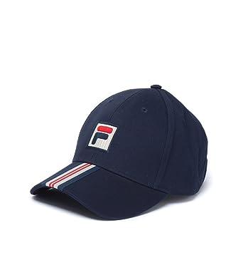 63d984d0731 Fila - Casquette de Baseball - Homme Bleu Bleu - Bleu -  Amazon.fr ...