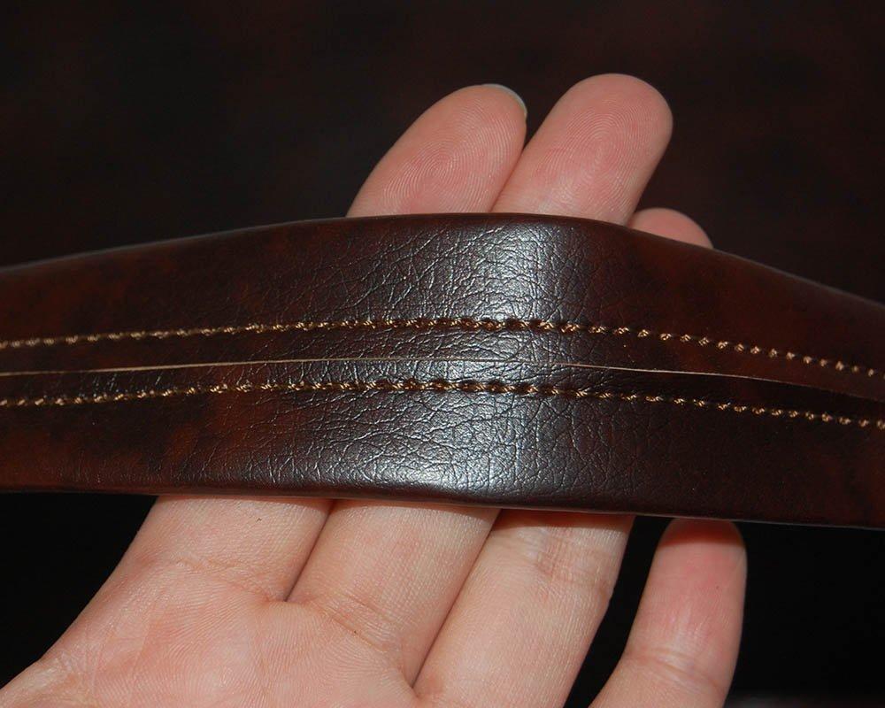 dunkel Braun Toparchery 150cm* 27cm Leder Bogentasche f/ür Longbogen u Recurvebogen Tasche
