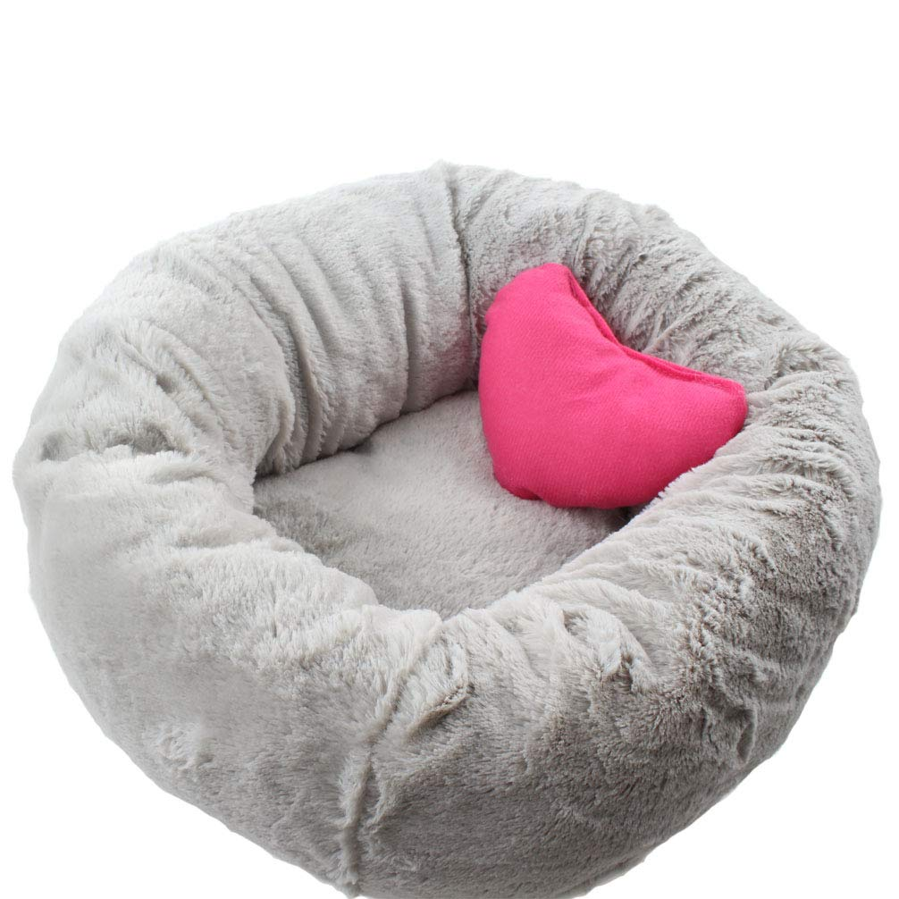 Emours Pet Dog Cat Beds Puppy Cushion House Soft Warmer Kennel Mat Washable Hideout Plush Self Warming Bed