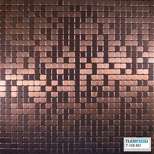 flexipixtile-modern-aluminum-mosaic-tile-peel-stick-backsplash-accent-wall-1-sqftcopper-coin