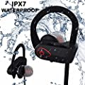 ONE DAY SALE! IPhone 7 Headphones - The Ultimate Bluetooth Earphone Deep Hi-Fi Sound - Non-Slip, Over Ear Designed for Athletes With Noise Cancellation - Sweat Resistant Headphones, IPX7 WaterProof