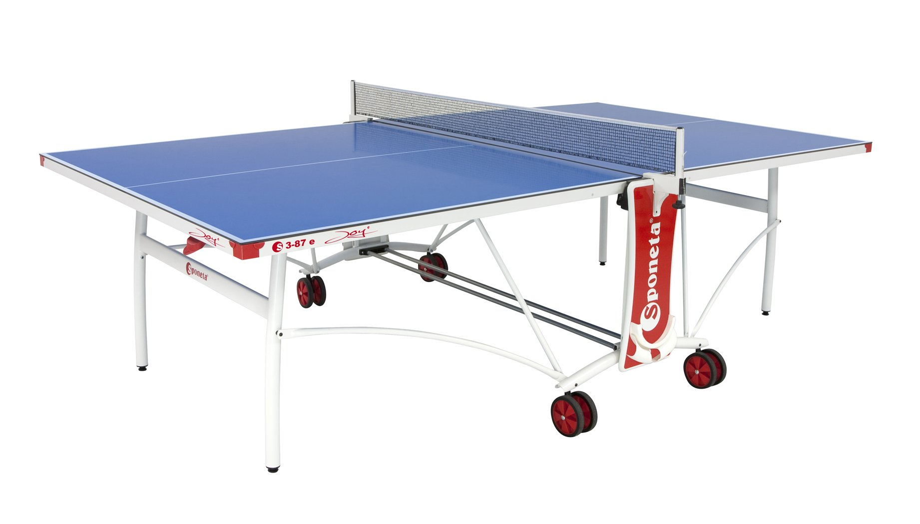 Sponeta Joy Indoor/Outdoor Table Tennis Table, Blue Top by Sponeta