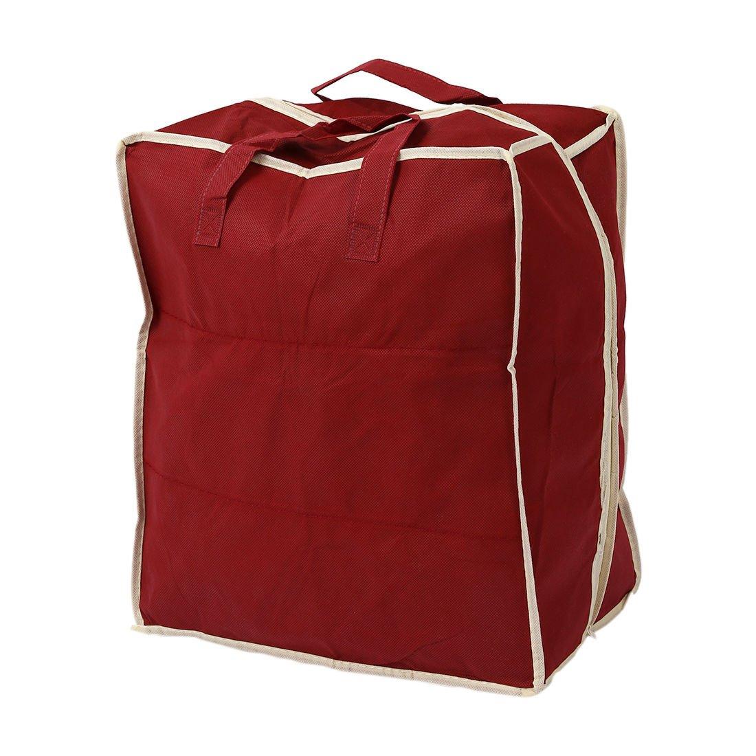 TOOGOO R Organizador de almacenamiento de zapato plegables ventilacion impermeable de viaje rojo Armario de moda portatil Bolsas de zapatos para mujeres hombres