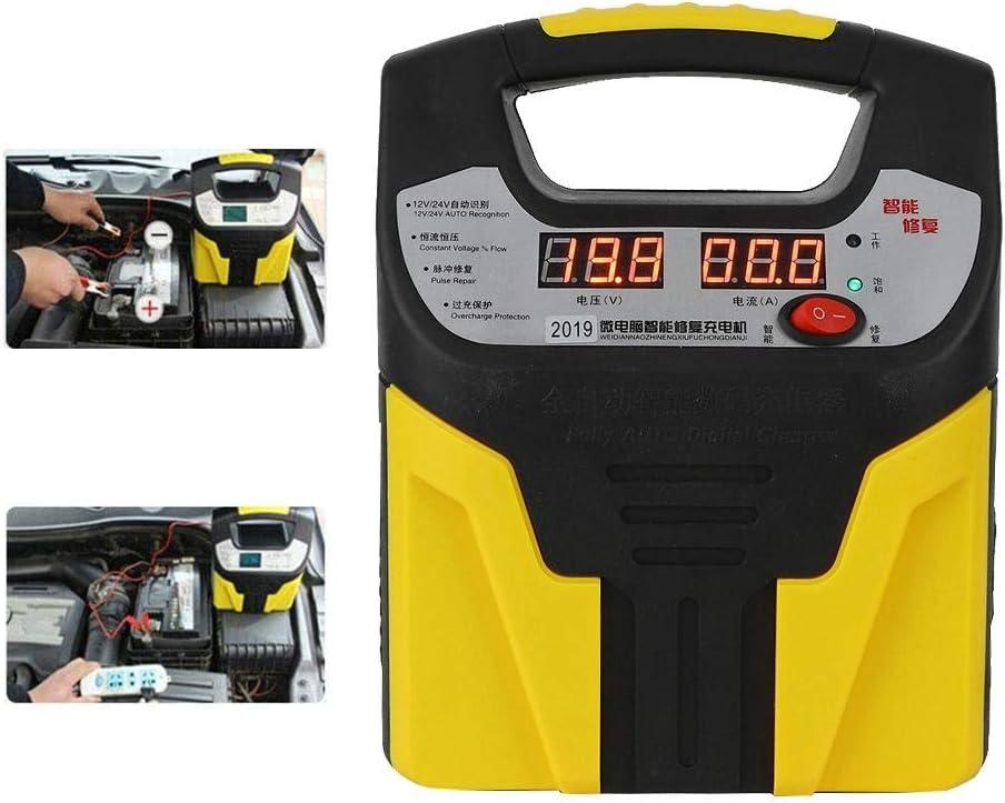Caricabatteria per auto Caricabatterie display LCD Riparazione intelligente degli impulsi