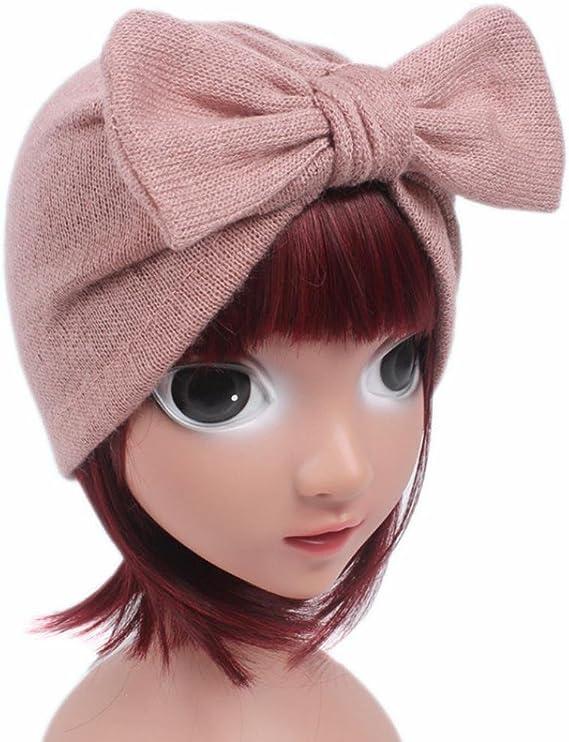 Az/úl Gorros Beb/é invierno c/álido sombreros Sombrero que hace punto de los beb/és de los ni/ños Gorro de capucha Beanie Turban Head Tapa de pila Zapatos de beb/é Bufandas del Beb/é ropa bebe by Xinantime