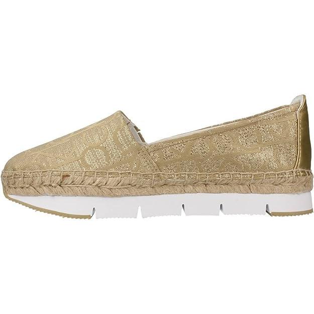 Mocasines para mujer, color gold , marca CALVIN KLEIN, modelo Mocasines Para Mujer CALVIN KLEIN GENNA METALLIC JACQ Gold: Amazon.es: Zapatos y complementos