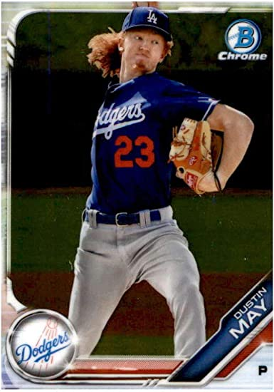 2019 Bowman Chrome Prospects #BCP-80 Dustin May NM-MT Dodgers