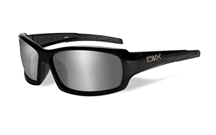 5382320885 Amazon.com  DVX by Wiley X -OCULUS- SUN   SAFETY GLASSES- SILVER ...