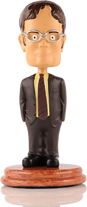 Madanar Dwight Schrute Bobblehead Collectible Desk Toy from The Office TV Show Merchandise