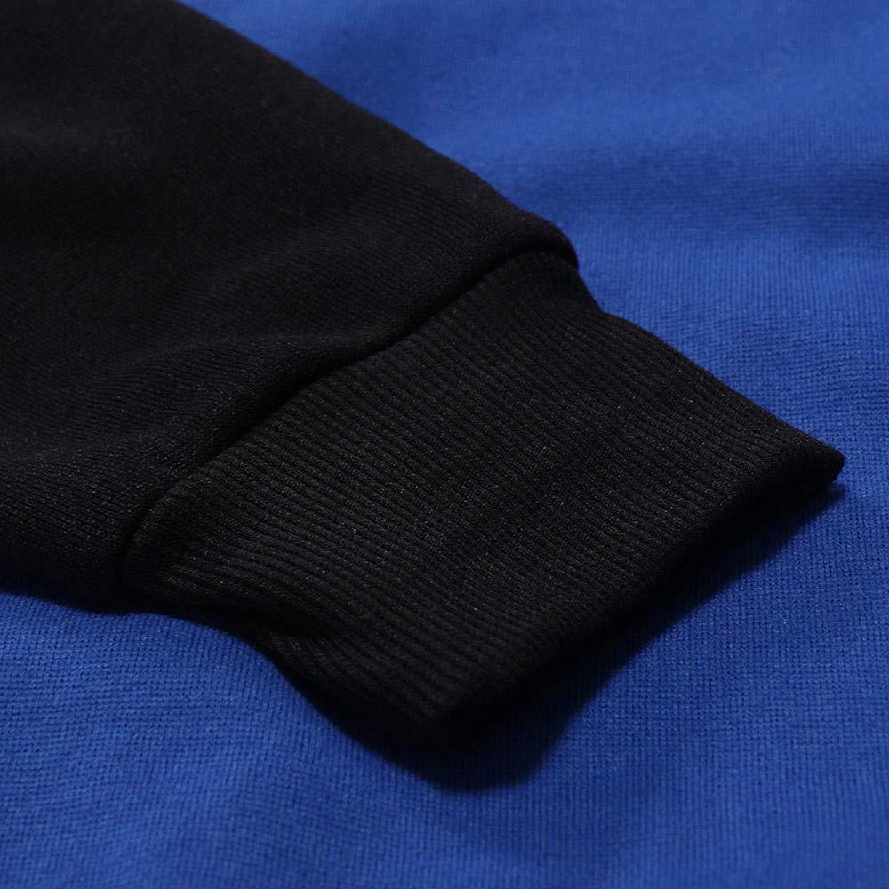 Logobeing Sudaderas de Hombre Invierno Abrigos Ropa Casual Outerwear Manga Larga Camisetas Chaqueta Suéter Chaqueta Punto Hombre Hoodie Tops -D502: ...