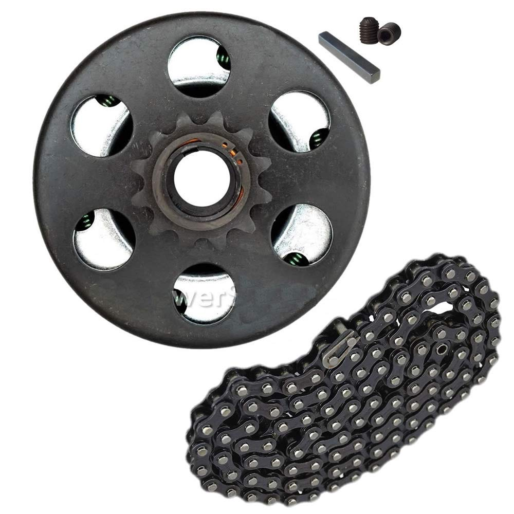 Go-Karts Parts & Accessories Predator 212cc 6.5HP Centrifugal Clutch 3/4'' Bore 12 Tooth #35 Chain screw sets by Parts