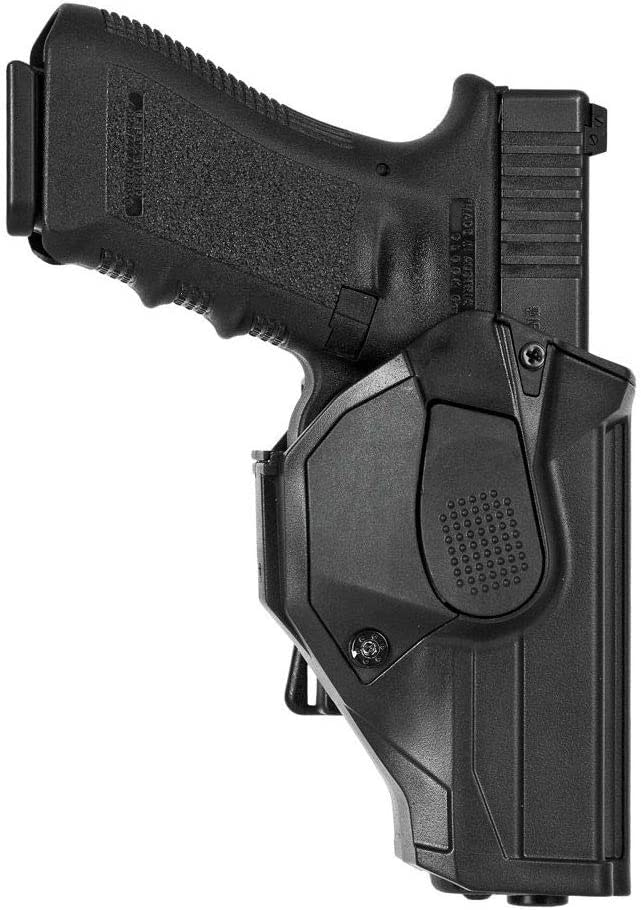 VEGA HOLSTER CCH8, Funda Derecha en polímero para Pistola (Beretta APX, Negro)