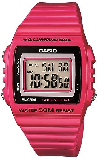 8648916f84b4 Reloj Casio Collection para Hombre W-215H-4AVEF  Amazon.es  Relojes