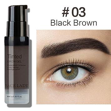 Amazon Com Waterproof Eyebrow Gel Makeup Henna Shade For Eye Brow