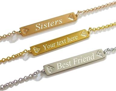 engraved bracelet Custom Name bracelet friendship bracelet Birthday Gifts Coordinate Bracelet\uff0cBracelet for Women Personalized Bracelet