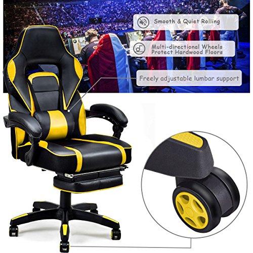 Giantex Gaming Chair Racing Chair Ergonomic High Back With