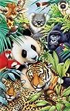 SunsOut Animal Magic 100 pc Jigsaw Puzzle