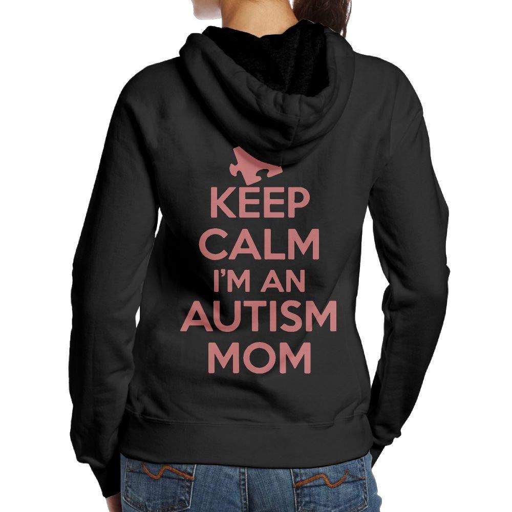 Keep Calm I M An Autism Mom Adult Cool Hoody T Shirts