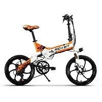 eBike_RICHBIT 730 vélos électriques pliant électrique vélo vélo de ville vélo de banlieue vélo électrique vélo 250W 48V 8AH cellule LG batterie 20 pouces avec Shimano 7 vitesses vitesse eBike