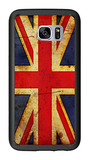 163040818f Image Unavailable. Image not available for. Color: British Flag Union Jack  Grunge For Samsung Galaxy S7 G930 Case ...