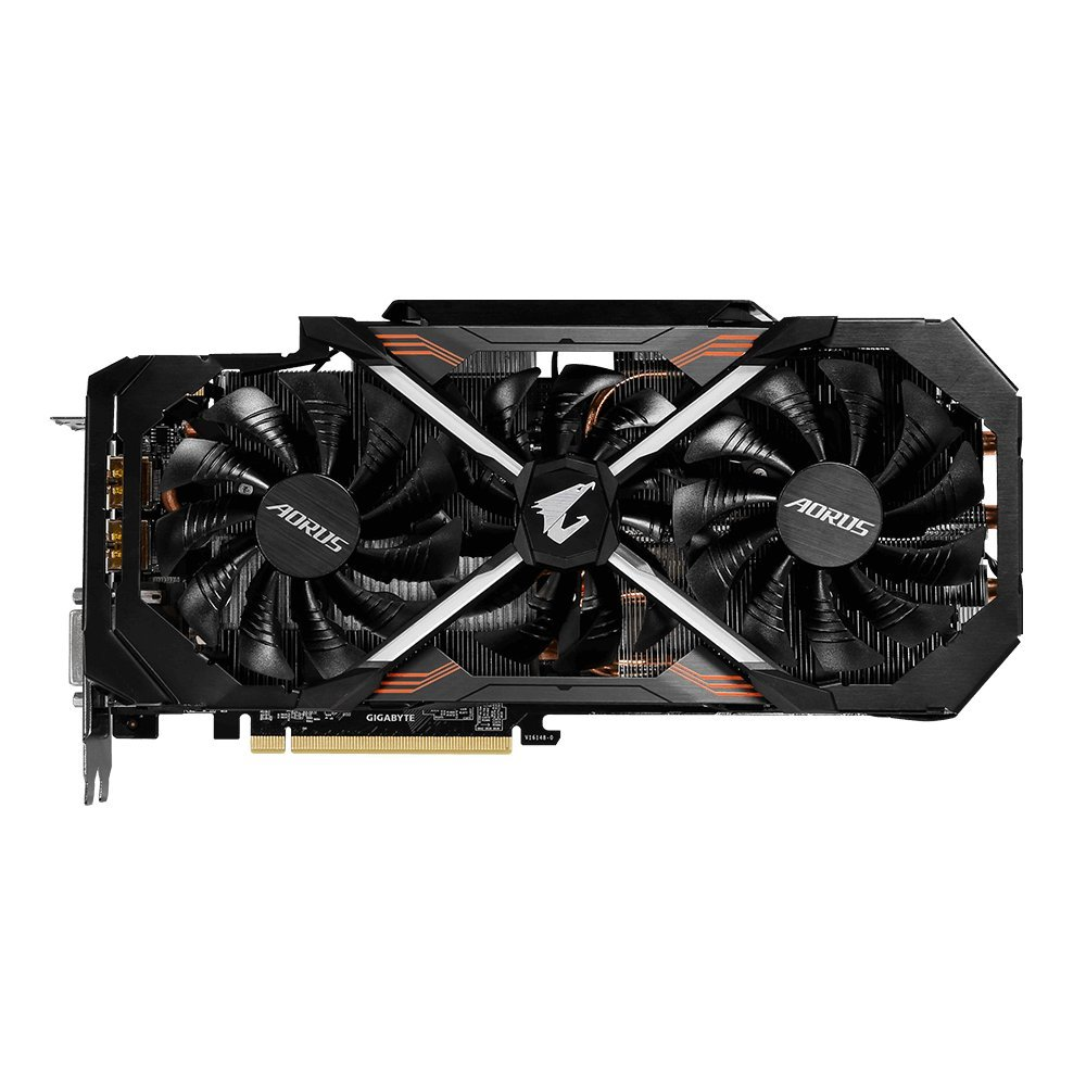 Gigabyte AORUS GeForce GTX 1080 Ti 11GB Graphic Cards GV-N108TAORUS-11GD by Gigabyte (Image #3)