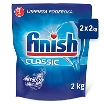 Finish ECO Recarga Lavavajillas Polvo, 2 X 2 kg: Amazon.es: Salud ...