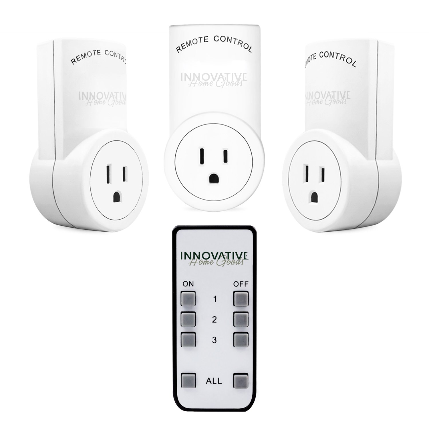 Innovative Home Wireless Remote Control Outlet Switch - Electrical ...