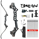 HYF Takedown Recurve Bow Package R3,Ready to Shoot Archery Set for Adults,Bow and Arrow Set