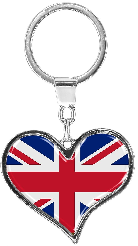metALUm Premium - Llavero de metal Bandera Grande britania ...