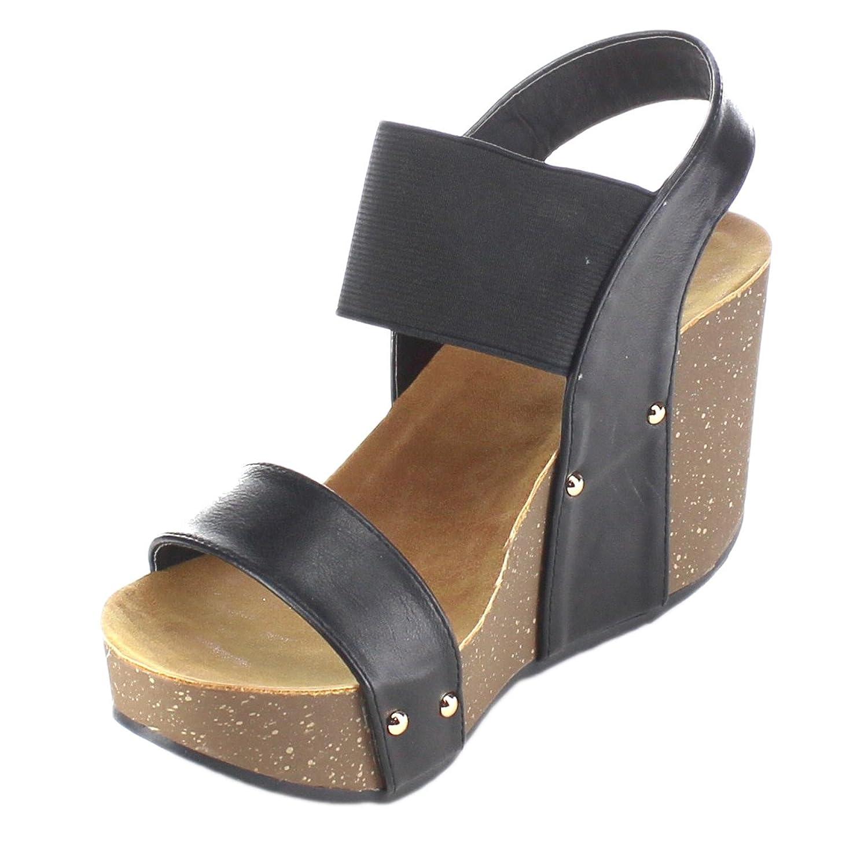 Amazon.com | Refresh Women's Mara-10 Platform Cork Wedge High Heel Leather  Sandal... | Sandals - Amazon.com Refresh Women's Mara-10 Platform Cork Wedge High Heel