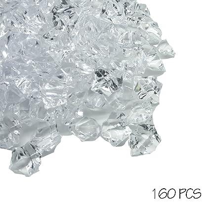 Amazon 155 Pcs Decorative Acrylic Ice Rock For Table