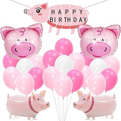 Amazon.com: Kreatwow - Globos para fiesta de cumpleaños ...