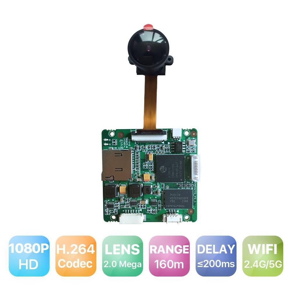 RAKWireless RAK5270 Full HD 1080P 5.8G WiFi Camera Hi3516C Module, Wireless Drone Camera Accessories, Hisilicon Camera Module/Board