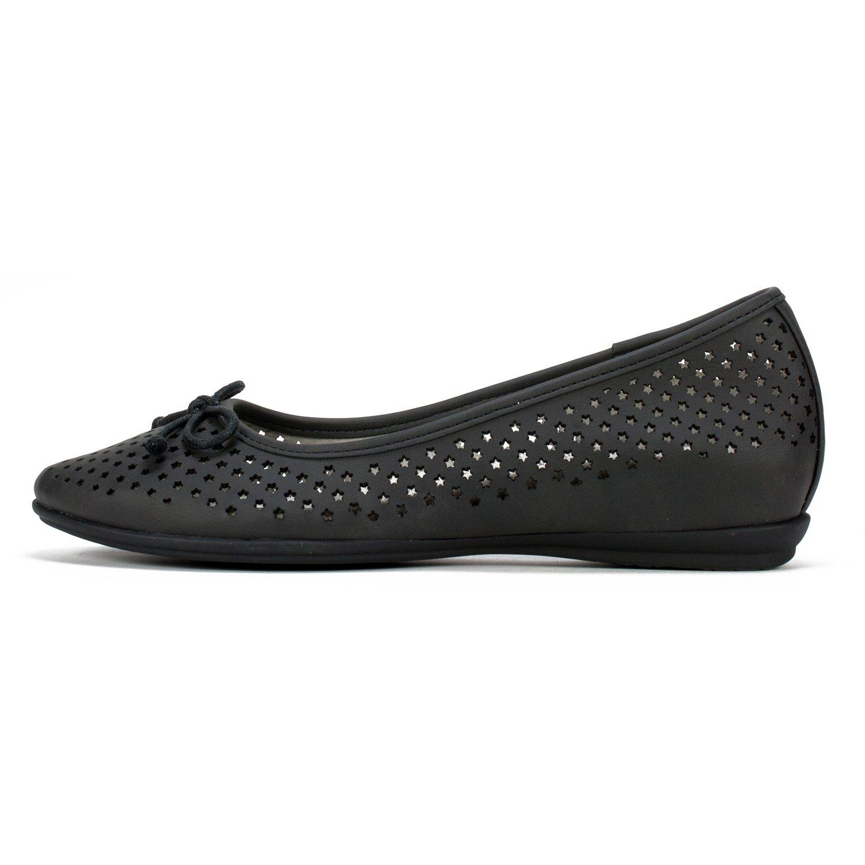 CLIFFS BY WHITE MOUNTAIN Shoes Maryrose Women's Flat B07C227WVT 11 B(M) US Black