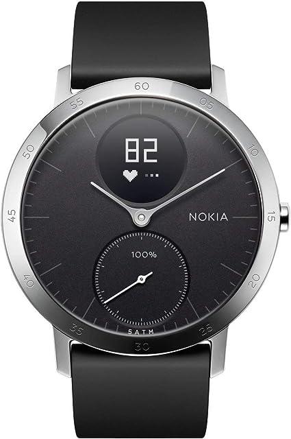 Amazon.com : Withings Steel HR Hybrid Smartwatch - Activity, Sleep
