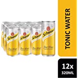 Schweppes Tonic Water, 330ml (Pack of 12)