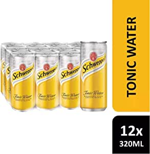 Schweppes Tonic Water, 330ml , Pack of 12
