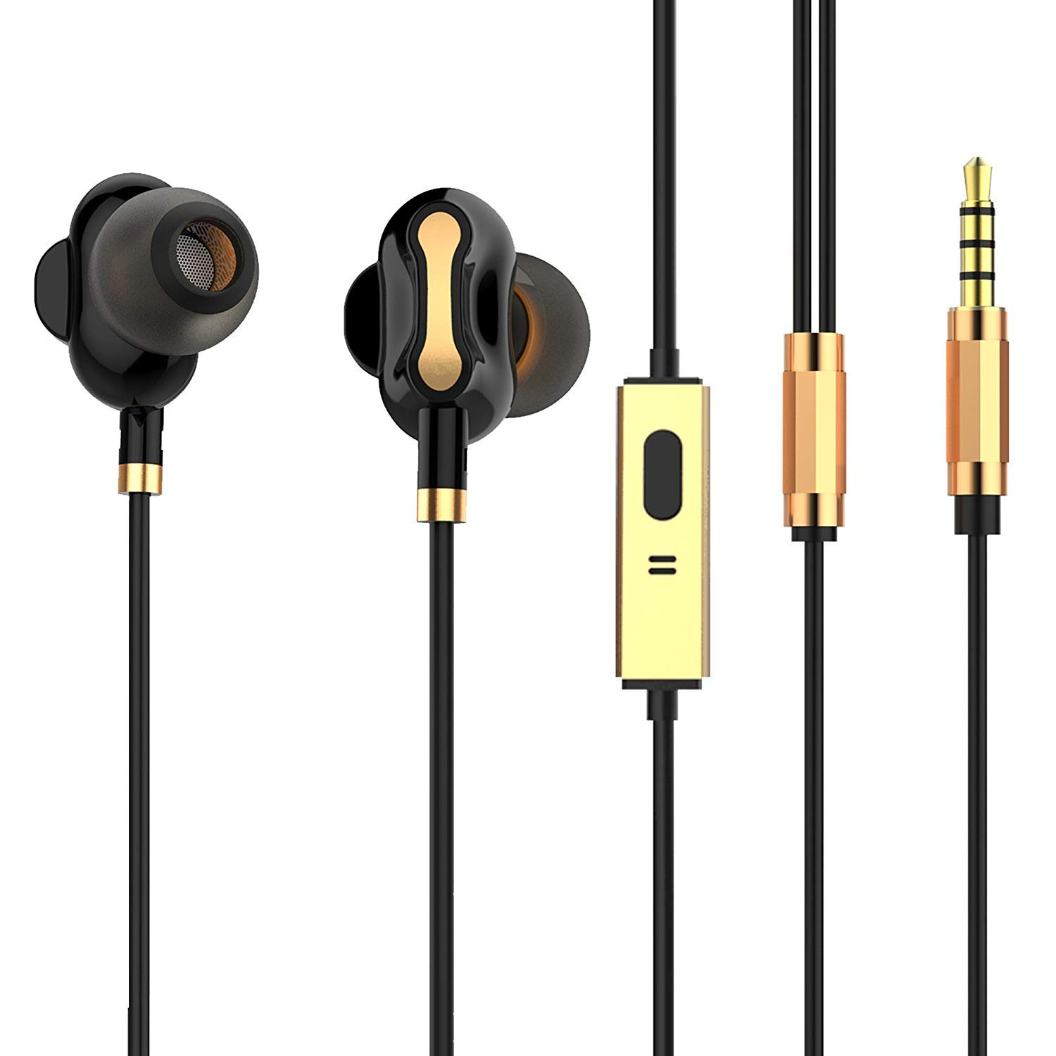 Tagg Soundgear-500 Dual Driver In-Ear Headphones With