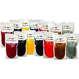 Cero Non Toxic Holi Colour Gel [Set of Two, 7 Colours, 250gm Each] 100% Organic (3.5 Kg)
