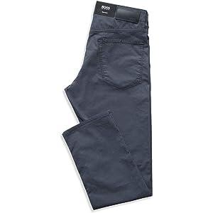 bc4f587a82 Amazon.com: Hugo Boss Men's Regular-fit Jeans in Super-Soft Italian ...