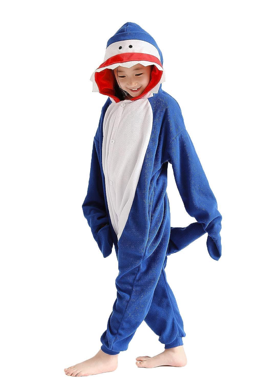 Animal Onesie for Kids Unisex Cosplay Costumes Pajamas Halloween Outifts Girls One Piece Sleepwear