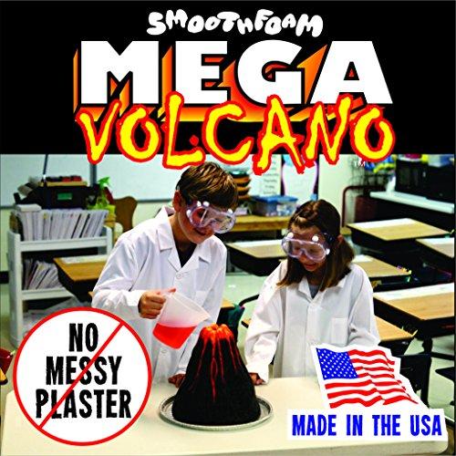 Smoothfoam K-103 Mega Volcano Kit-White (Stem Science Fair Projects For 7th Grade)