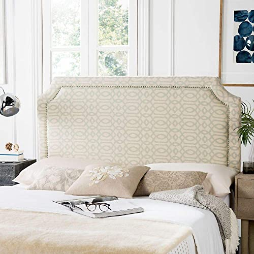 Deal of the week: Safavieh Mercer Collection Shayne Yellow Wheat Pale Blue Headboard Queen