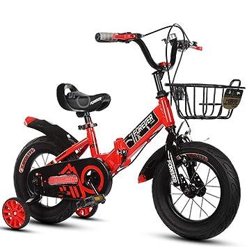 LETFF Bicicleta Plegable para Niños De 20 Pulgadas, 8-12 Años, Bicicleta De