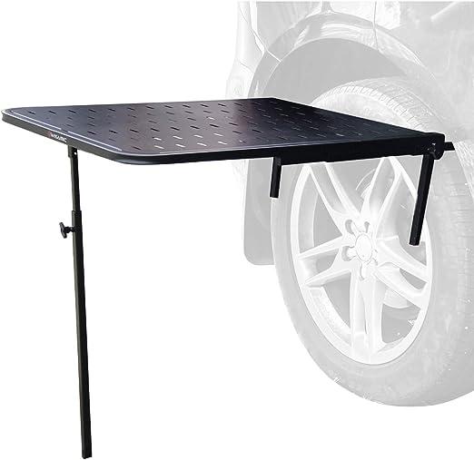 Wisamic Mesa plegable para acampar - Mesa de picnic de mesa ...