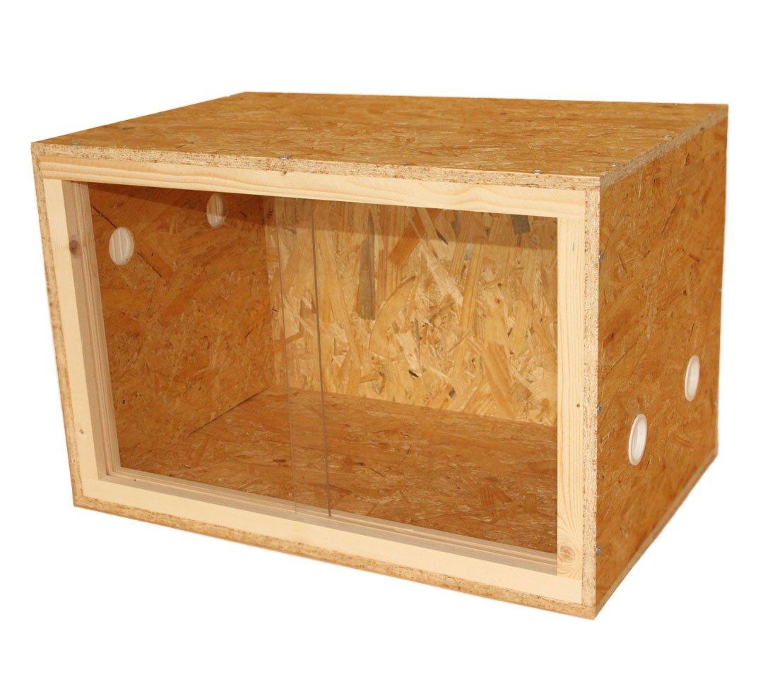Dehner Classic Terrarium en bois 60 x 40 x 40 cm 1712108