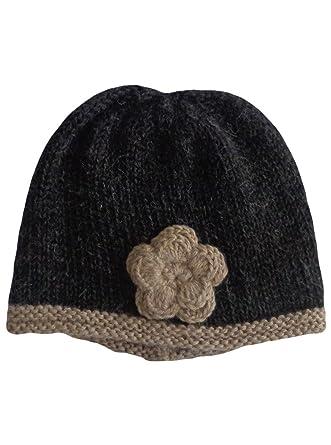7837e7133 Gamboa - Alpaca Hat - Winter Hat for Women - Alpaca Cap - Dark Gray ...
