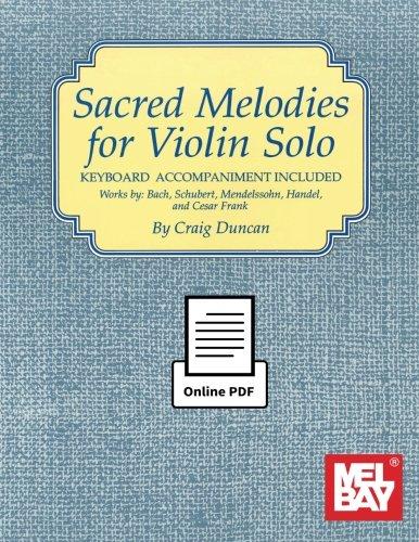 Sacred Melodies for Violin ()