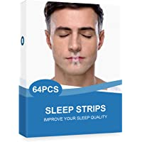 64Packs Mouth Tape for Sleeping, Mouth Strips for Sleeping Quality Improvement, Sleep Tape, Sleep Strips & Mouth Tape…