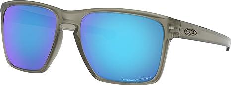 Oakley Sliver XL Sunglasses Matte Grey Ink with Sapphire Iridium ...